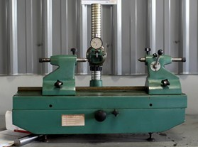 Gear deflection tester