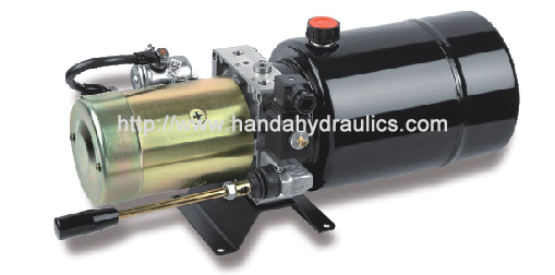 DC Mini Vertical Hydraulic Power Unit Packs Control Type