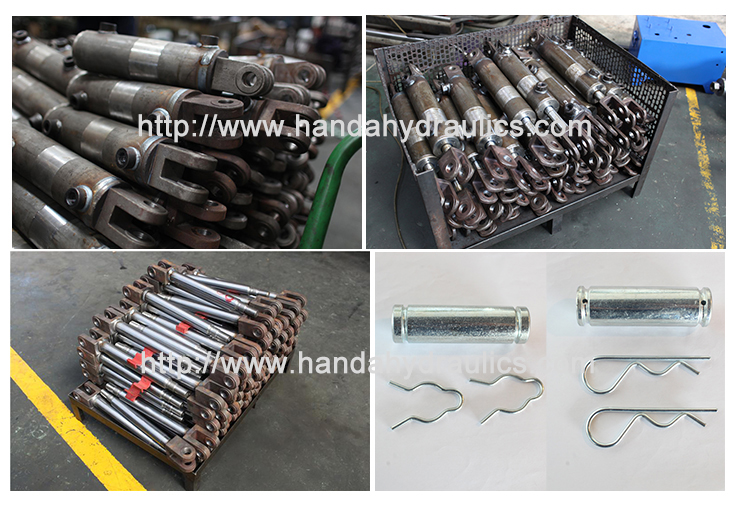 WCC Welded Hydraulic Cylinder Compoment Parts