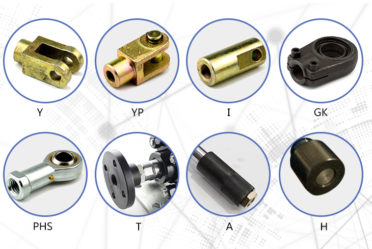 Small Round Hydraulic Cylinder Rod Ends